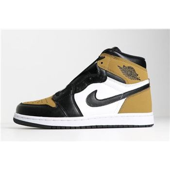Air Jordan 1 High Rookie of the Year Gold Harvest/Black 555088-700