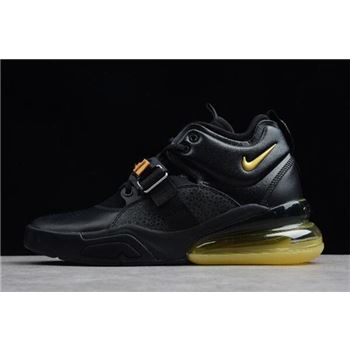 Nike Air Force 270 Black Yellow Men's Size AH6772-007 For Sale