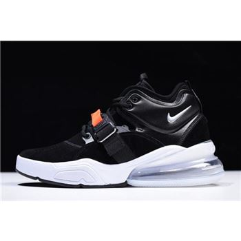 Nike Air Force 270 Metallic Black/Metallic Silver-White AH6772-001 For Sale
