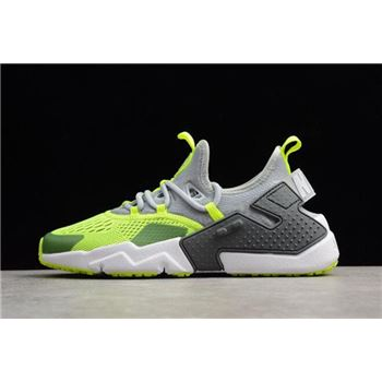 Men's Nike Air Huarache Drift BR 6 Wolf Grey/Volt AO1133-001