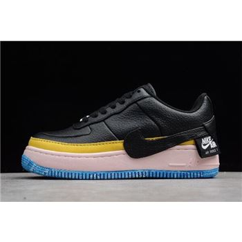 Women's Nike Air Force 1 Jester XX SE Black/Sonic Yellow-Arctic Orange AT2497-001