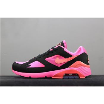 Nike Air Max 180 x Comme Des Garcons Laser Pink/Solar Red-Black AO4641-601