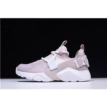 Women's Nike Air Huarache City Low Particle Rose/White-Pink AH6804-600