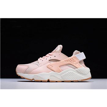 Women's Nike Air Huarache Run Sunset Tint/White-Gum Yellow 634835-607