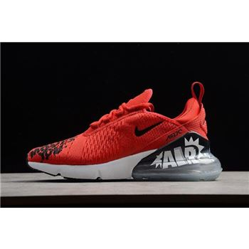 NIKEiD Air Max 270 iD Air Moves You Red/Black-White Men's Shoes BQ0742-995