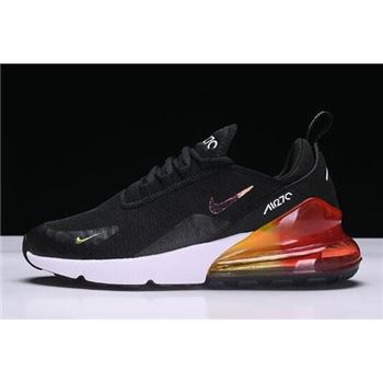 Nike Air Max 270 Black/White-Red Men's and Women's Size AH6789-016