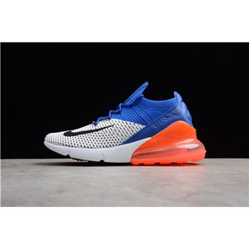 Nike Air Max 270 Flyknit Racer Blue/Total Crimson AO1023-101