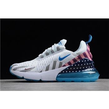 Parra x Nike Air Max 270 White Multi White/Pure Platinum AH6789-020
