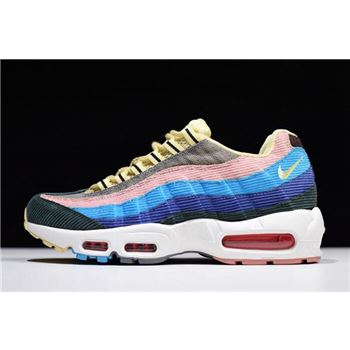 Sean Wotherspoon x Nike Air Max 97/95 VF SW Light Blue Fury/Lemon Wash AQ4219-400