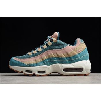 Women's Nike Air Max 95 LX Smokey Blue AA1103-002 Free Shipping