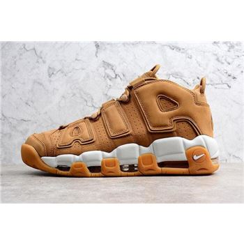 Nike Air More Uptempo PRM Wheat Flax/Flax-Gum Light Brown AA4060-200