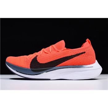 Nike Vaporfly Flyknit 4% Bright Crimson/Black AJ3857-601 Cheap For Sale