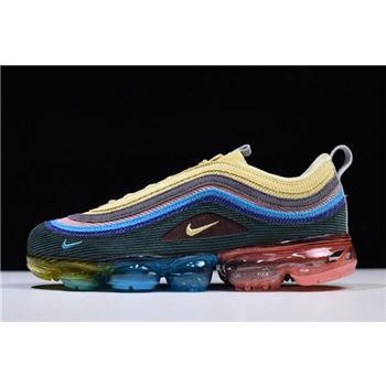 Sean Wotherspoon x Nike Air VaporMax 97 VF SW Hybrid Light Blue Fury/Lemon Wash AJ7291-400