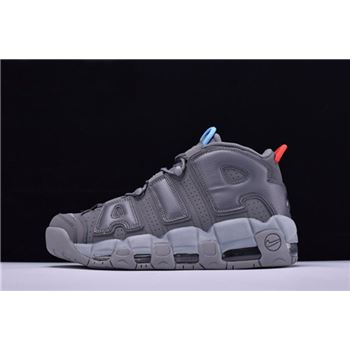 VILLA x Alexander John x Nike Air More Uptempo Grey/Blue/Red Men's and Women's Size Shoes 921948-701