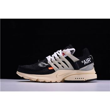 New Off-White x Nike Air Presto x Virgil Abloh The Ten Black/Muslin AA3830-001