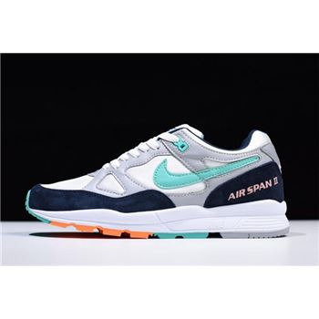 Nike Air Span II Wolf Grey/Kinetic Green AH8047-006