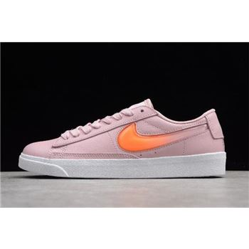 Women's Nike Blazer Low LE Pale Ivory/Ice Pomegranate Red-Peak White AV9371-100