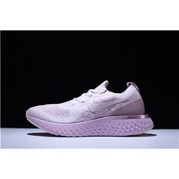 Nike WMNS Epic React Flyknit Pearl Pink Running Shoe AQ0067-600