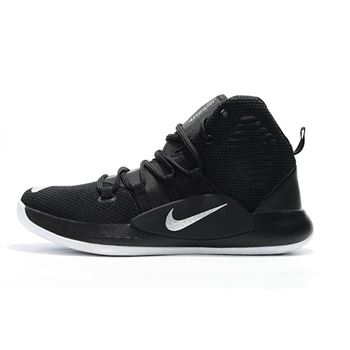 Men's Nike Hyperdunk X 2018 Black Silver White Basketball Shoes