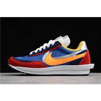 Sacai x Nike Hybrid Collection Waffle Daybreak and LDV Fusion Multi-Color Shoes For Sale