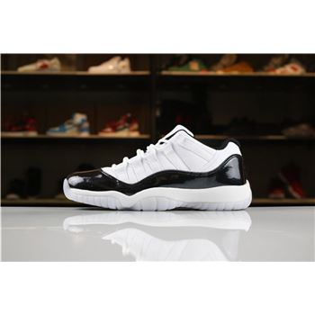 2018 Air Jordan 11 Low Easter White/Emerald Rise-Black Men's and Women's Size For Sale