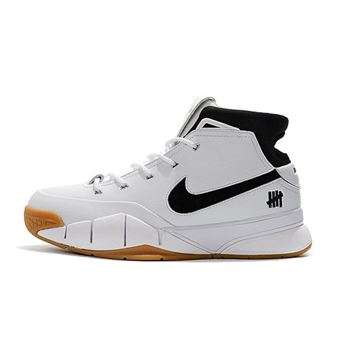 Undefeated x Nike Zoom Kobe 1 Protro White Gum Men's Size Free Shipping