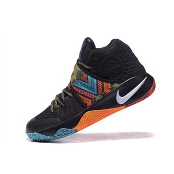 Nike Kyrie 2 BHM Black/Multi-Color For Sale