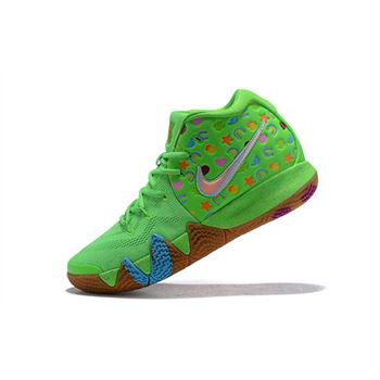 Nike Kyrie 4 Green Lucky Charms For Sale