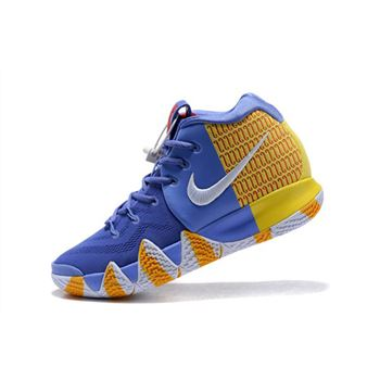 Nike Kyrie 4 London PE Purple/Yellow/Red/White AR6189-500