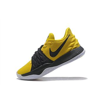 Nike Kyrie 4 Low Amarillo/Black-White AO8979-700 Sale Free Shipping