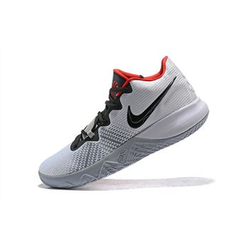 Nike Kyrie Flytrap White/Black-University Red Men's Shoes Free Shipping
