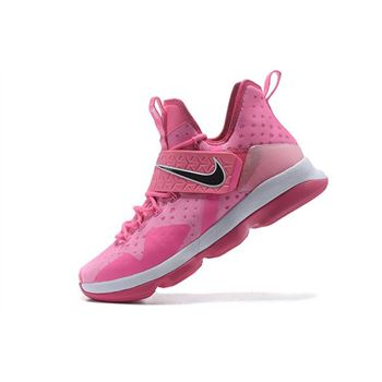 Nike LeBron 14 Think Pink Men's Basketball Shoes
