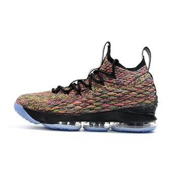 Men's Nike LeBron 15 Four Horsemen Multi-Color/Black 897648-901