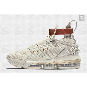Nike LeBron 16 HFR Sail/White/Light Bone BQ6583-100