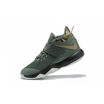 Nike LeBron Ambassador 10 Cargo Khaki Neutral Olive For Sale