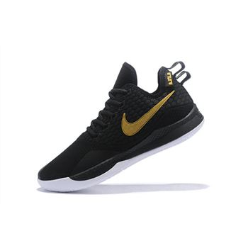 Nike LeBron Witness 3 Black/Metallic Gold For Sale