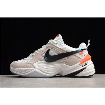 Off-White x Nike M2K Tekno Beige White Men's and Women's Size A03108-058