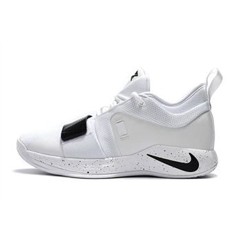 Nike PG 2.5 White Black Paul George Basketball Shoes