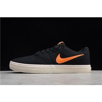 Nike SB Check Solar Canvas PRM Black/Clay Orange-Ivory 844493-081