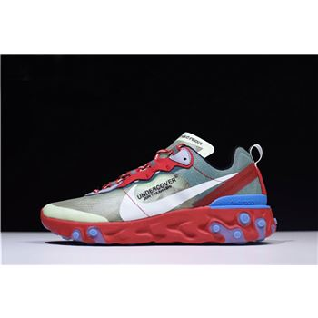 Undercover x Nike React Element 87 Red/Green/Blue AQ1813-339