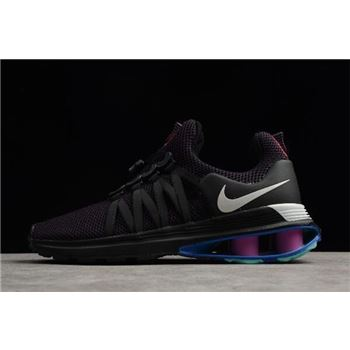 Nike Shox Gravity Grand Purple/Vast Grey-Black-White AR1999-500 For Sale