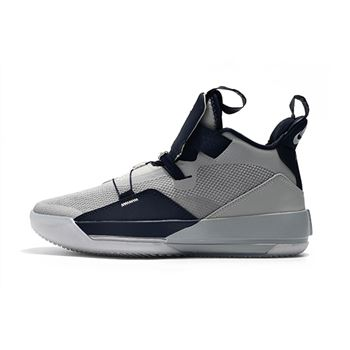 Air Jordan 33 Georgetown Hoyas PE Grey/Navy Blue