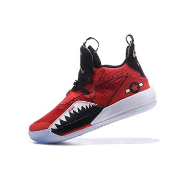 Air Jordan 33 XXXIII Future of Flight Bright Red/Black-White