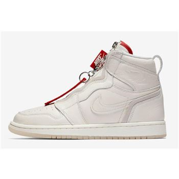 Vogue x Air Jordan 1 High Zip AWOK Sail/Sail-University Red BQ0864-106