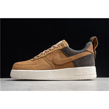 Carhartt WIP x Nike Air Force 1 '07 Premium Ale Brown/Sail-Ale Brown AV4113-200