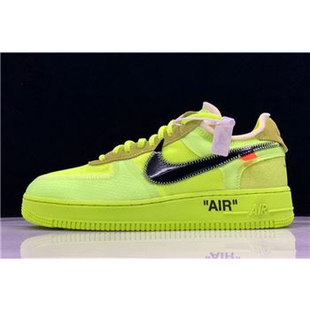 2018 Off-White x Nike Air Force 1 AF1 Low