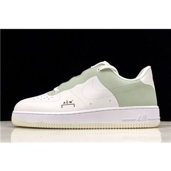 A-Cold-Wall* x Nike Air Force 1 White/Light Green BQ6924-001
