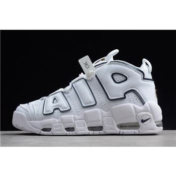 Nike Air More Uptempo White/Blue-Gold 921948-109