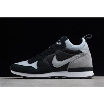 Nike Internationalist Mid Wolf Grey/Black-Dark Grey 682844-009