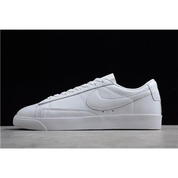 Nike Blazer Low LE Triple White Leather AA3961-104